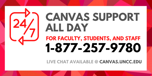 Canvas 24/7 Support