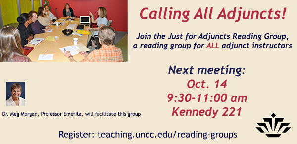 Adjunct Faculty Reading Group
