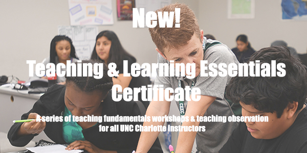 Teaching & Learning Essentials Certificate