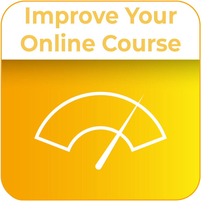 Improve Your Online Course icon