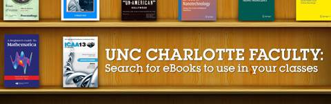 eTextbooks at UNC Charlotte
