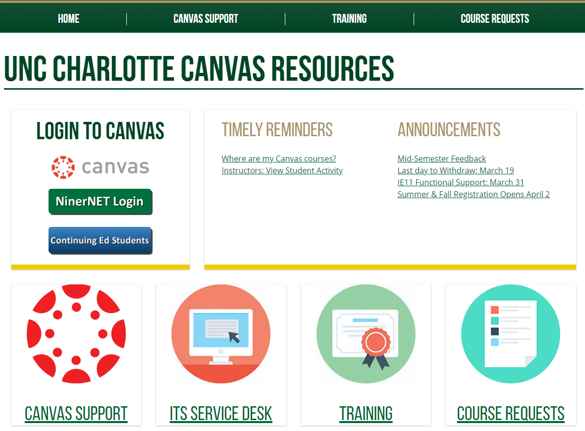Go to Canvas Resources website