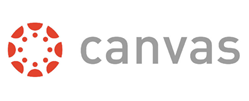 Canvas Logo with link to canvas.uncc.edu