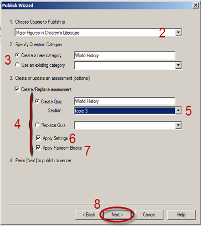 how to create a new course in moodle